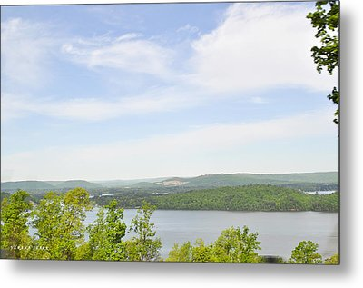View Of The Mountains Of Alabama Metal Print by Verana Stark