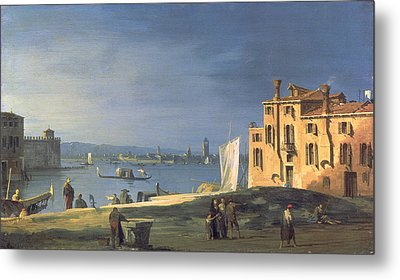 View Of Venice Metal Print by Canaletto