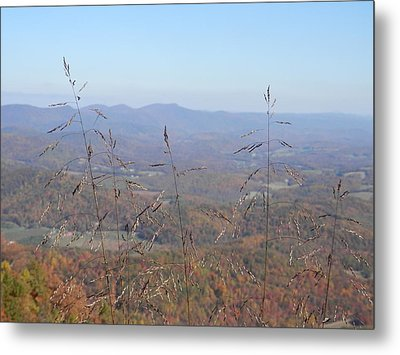 View Past Lover's Leap Metal Print by Angelia Hodges Clay