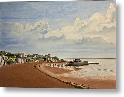 Viking Bay Broadstairs Kent Uk Metal Print by Martin Howard