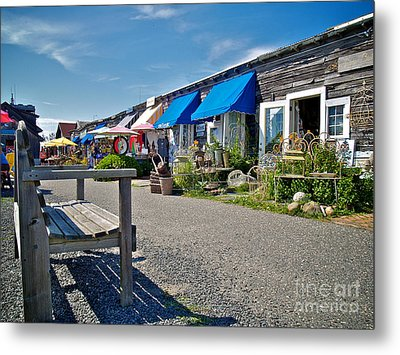Viking Village Metal Print by Mark Miller