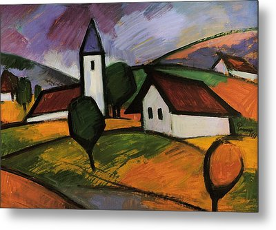 Village  Metal Print by Emil Parrag