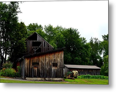 Metal Print featuring the photograph Village Winery by Cathy Shiflett