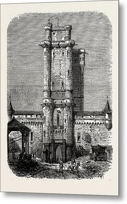 Vincennes, Entrance To The Fort Metal Print