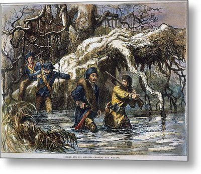 Vincennes: March, 1779 Metal Print