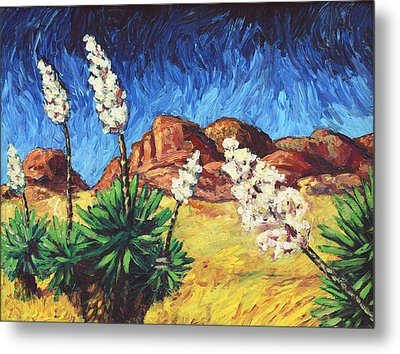 Vincent In Arizona Metal Print