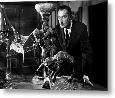 Vincent Price Metal Print by Mountain Dreams