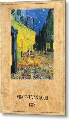 Vincent Van Gogh 3 Metal Print by Andrew Fare