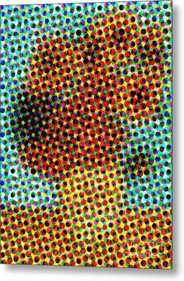 Vincent Van Gogh Sunflowers 2.0 - V5 Metal Print by Edward Fielding
