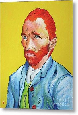 Vincent Van Gogh Metal Print by Venus