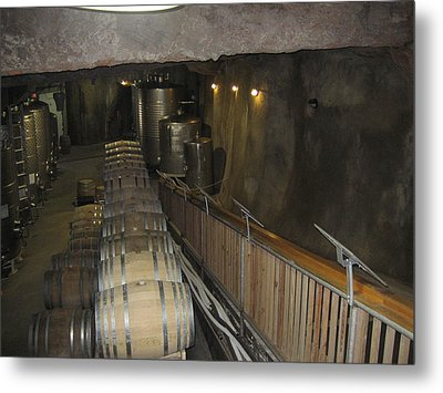 Vineyards In Va - 121216 Metal Print by DC Photographer