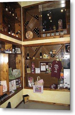 Vineyards In Va - 12124 Metal Print by DC Photographer