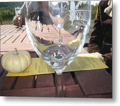 Vineyards In Va - 121245 Metal Print by DC Photographer