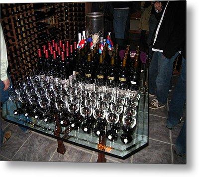 Vineyards In Va - 121271 Metal Print by DC Photographer