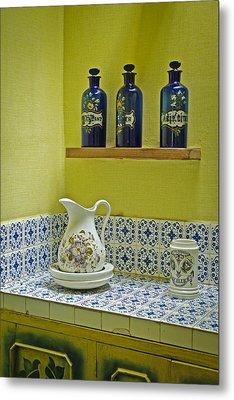 Vintage Bathroom Metal Print by Lana Enderle