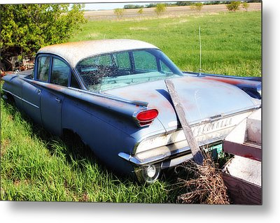 Metal Print featuring the photograph Vintage Car by Ryan Crouse