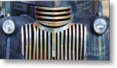 Vintage Chevrolet 005 Metal Print by Robert ONeil