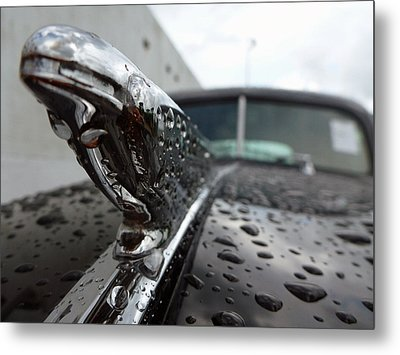 Metal Print featuring the photograph Vintage Chevy by John Collins
