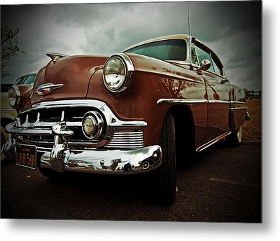 Metal Print featuring the photograph Vintage Chrysler by Gianfranco Weiss