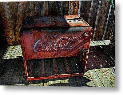 Vintage Coca-cola Metal Print
