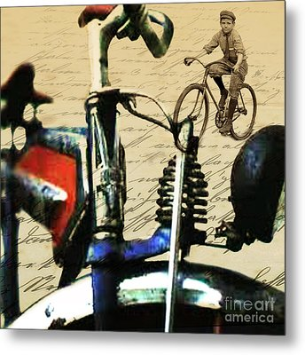 Vintage Cruiser Metal Print by Sassan Filsoof