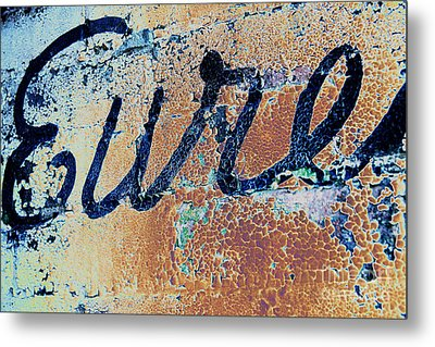 Metal Print featuring the photograph Vintage Eureka by Steven Bateson