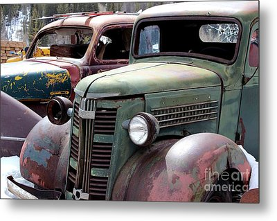Metal Print featuring the photograph Vintage by Fiona Kennard