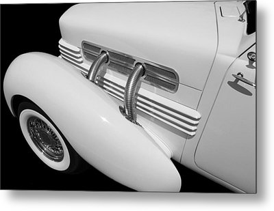 Classic Car Metal Print featuring the photograph Vintage Ghost  by Aaron Berg