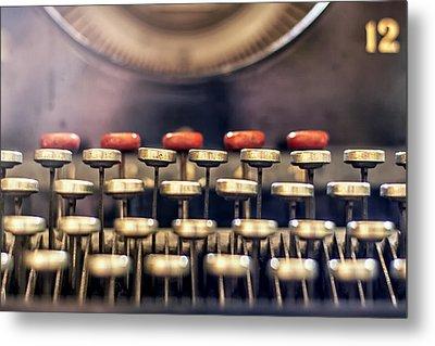 Vintage Keys Metal Print by Georgia Fowler