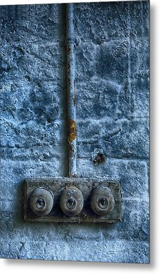 Vintage Light Switches Metal Print by Russ Dixon