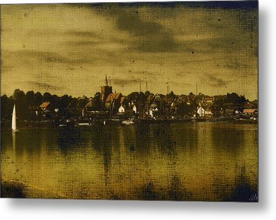 Metal Print featuring the digital art Vintage Maldon  by Fine Art By Andrew David