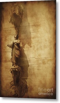 Vintage Photo Of Duomo Architecture Metal Print by Evgeny Kuklev