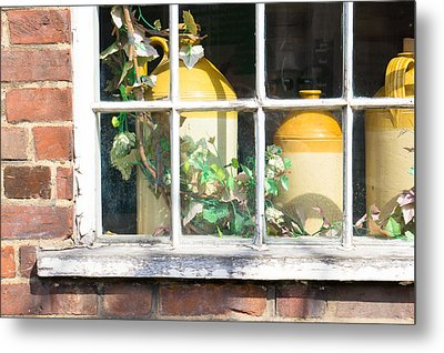Vintage Pots Metal Print by Tom Gowanlock
