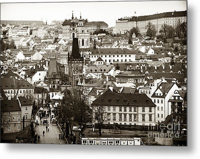 Vintage Prague Metal Print by John Rizzuto