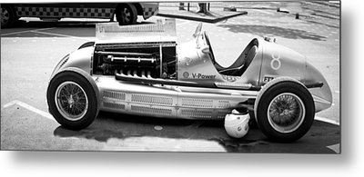 Metal Print featuring the photograph Vintage Racing Car by Gianfranco Weiss
