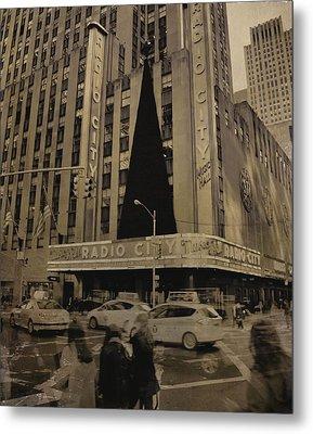 Vintage Radio City Music Hall Metal Print