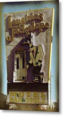 Vintage Vegas Metal Print by John Malone