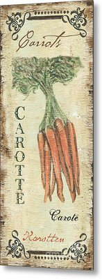 Vintage Vegetables 4 Metal Print by Debbie DeWitt