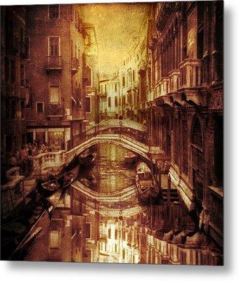 Vintage Venice Metal Print by Jessica Jenney