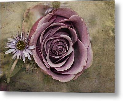 Violet Rose  Metal Print
