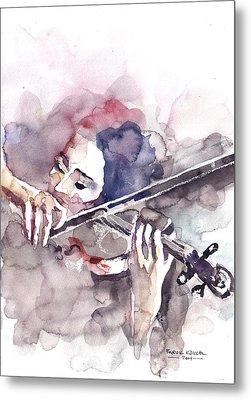 Violin Prelude Metal Print