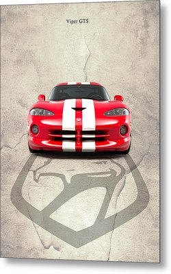 Viper Gts Metal Print by Mark Rogan