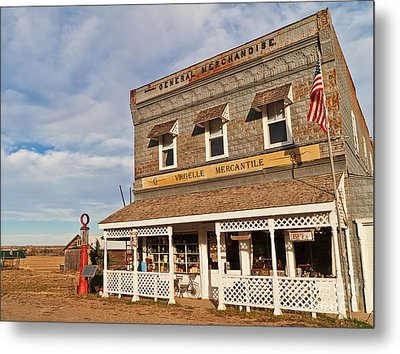 Metal Print featuring the photograph Virgelle Mercantile by Sue Smith