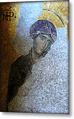 Virgin Mary Metal Print by Stephen Stookey