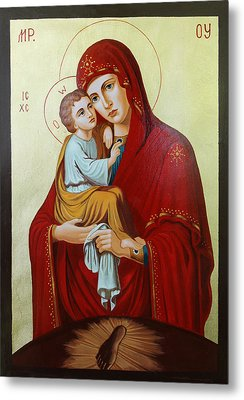 Virgin Of Pachev Metal Print by Janeta Todorova
