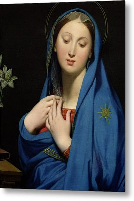 Virgin Of The Adoption Metal Print by Jean Auguste Dominique Ingres