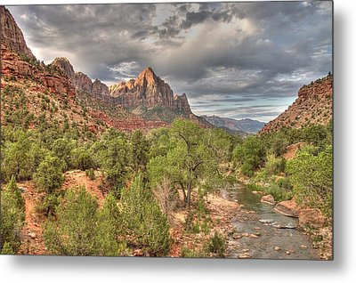 Metal Print featuring the photograph Virgin River by Jeff Cook