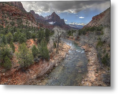 Virgin River Metal Print by Wendell Thompson