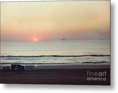 Virginia Beach Sunrise Metal Print by Kay Pickens