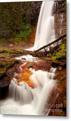 Metal Print featuring the photograph Virginia Cascades by Aaron Whittemore